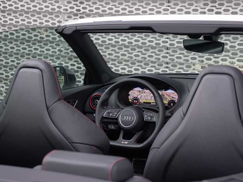 Audi A3 cabriolet 2.0 TFSI S3 quattro | B&O Sound | Adapt.Cruise | Dynamic RED | Stoelverwarming | LED | Climate-control | afbeelding 16