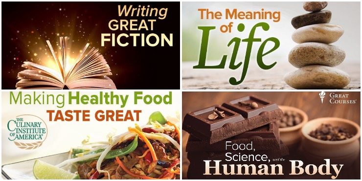 Writing Great Fiction, The Meaning of Life, Making Healthy Food Taste Great, Food, Science, and the Human Body