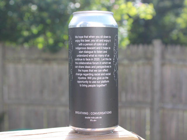 Breathing - Conversations, a Double IPA brewed by Vitamin Sea Brewing