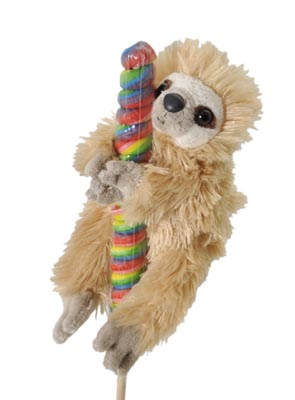 "The Petting Zoo: 8"" Lolly Plush Sloth"