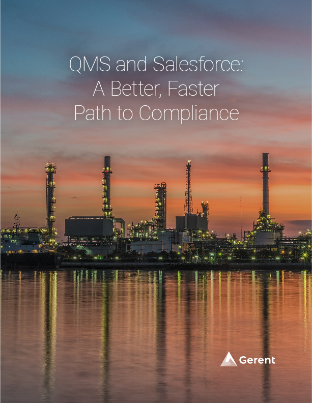 QMS and Salesforce: A Better, Faster Path to Compliance Cover