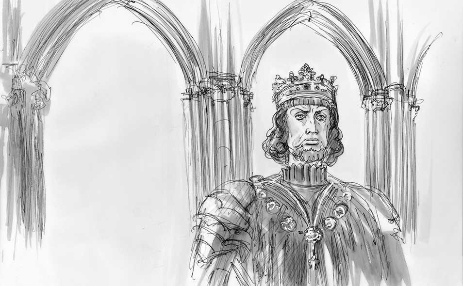 Atoleiros Battle animatic - Juan I de Castilla