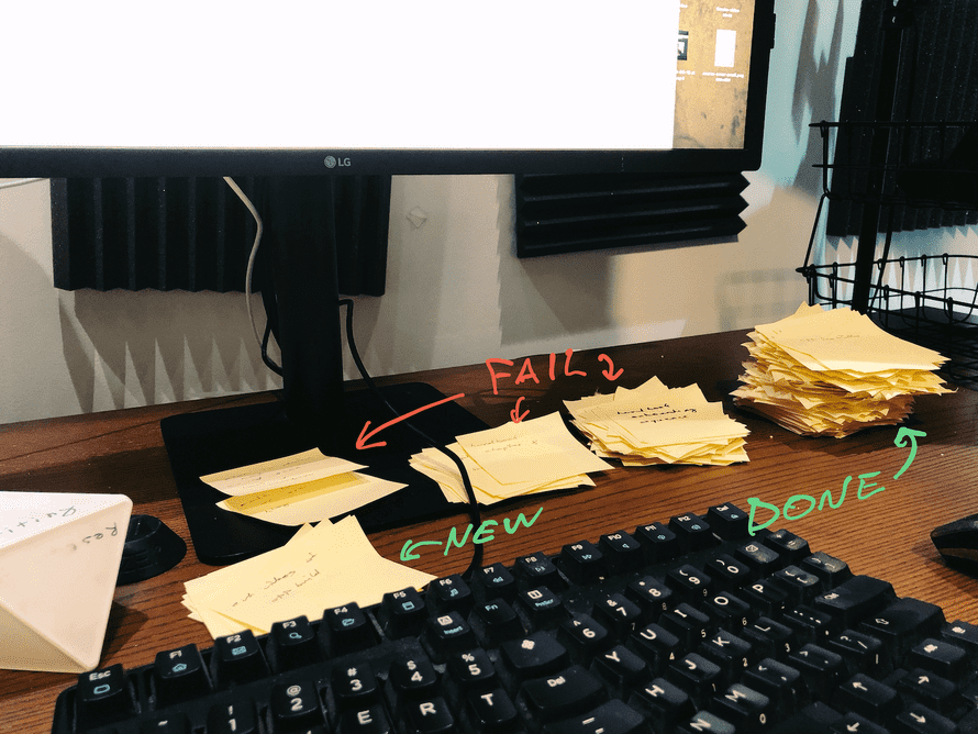 My 2019 in post-its