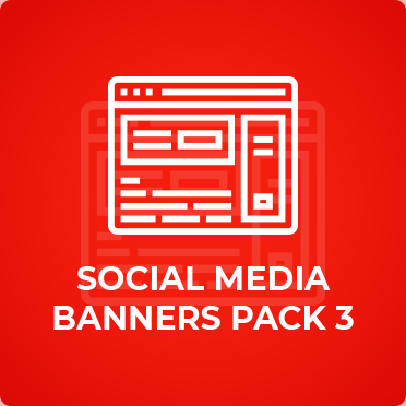 Social Media Banners Pack Three KDS Digital