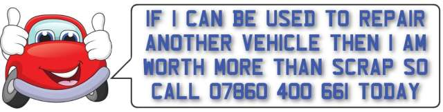 Call Mandy's Today - 07860400661 - Scrap  Car Buyers
