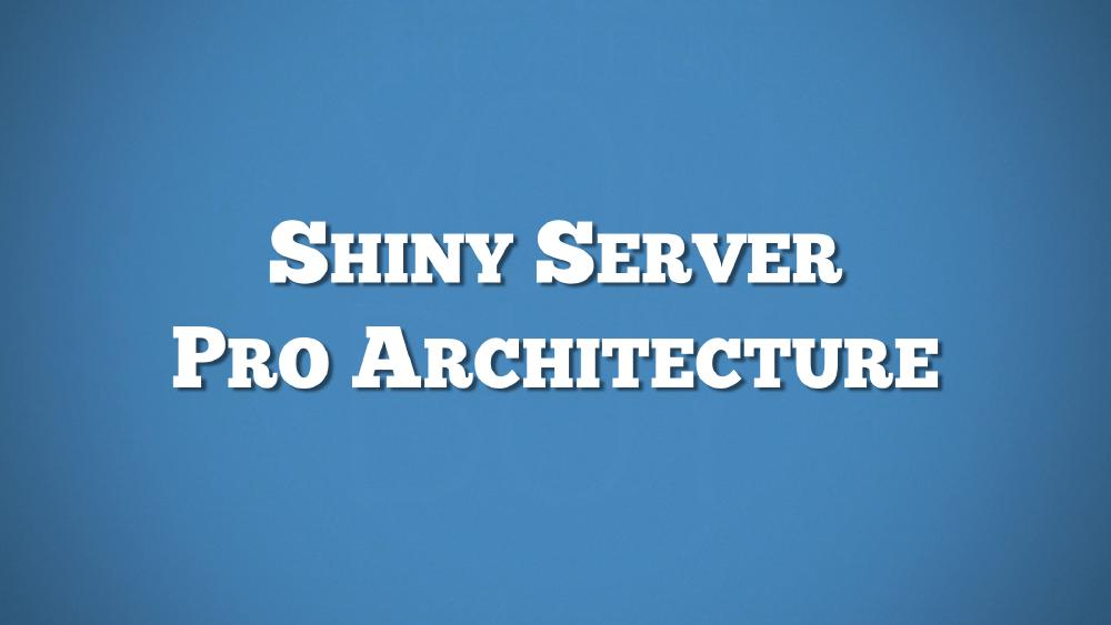 Shiny Server Pro Architecture