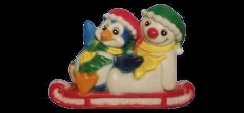Penguin, Snowman Sleigh photo