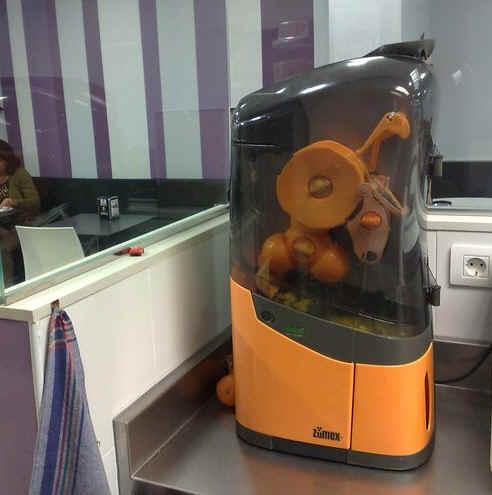 Exprimidor de zumo de naranja