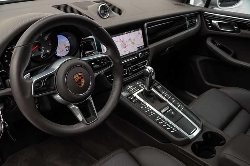 "Porsche Macan 3.0 S 354pk PDK SportDesign Nieuw Model (Krijt) Luchtvering Panoramadak SportChrono ACC Sportleder+Memory Keyless Full-Led Navi/High Privatglass Trekhaak  AppleCarplay 21""Sport Pdc 12/2019 afbeelding 10"
