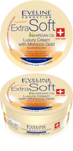 EVELINE ExtraSoft bioArgán bőrfiatalító krém 200 ml