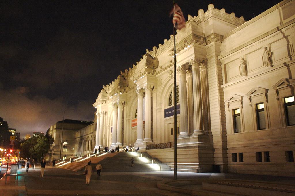 Metropolitan Museum of Art label project