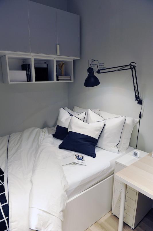 dormitorio juvenil ikea iluminacion
