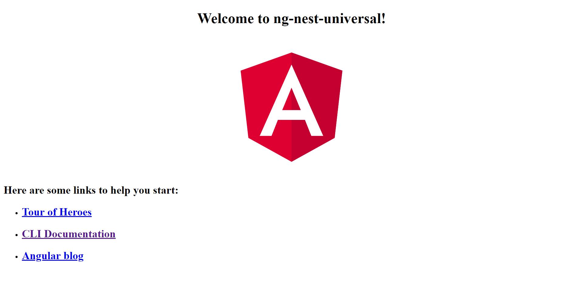 Adding Server Side Rendering (SSR) to Angular App using NestJS