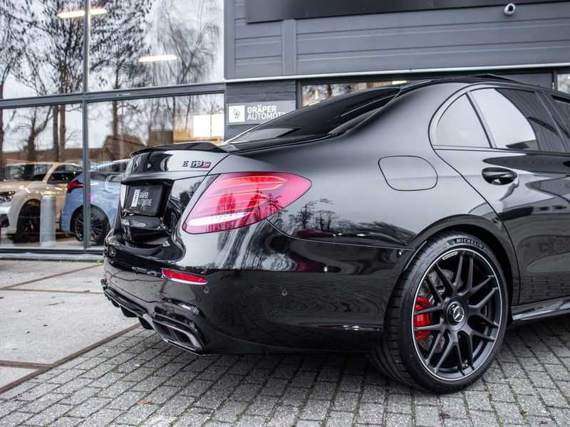 Mercedes-Benz E63 S E-klasse Burmester AMG-Performance-stoelen 63 S AMG 4Matic Premium Plus afbeelding 11