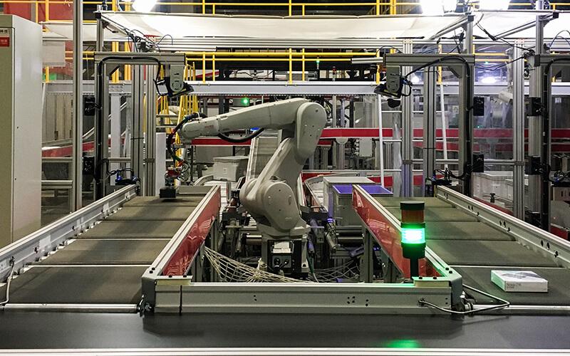 JD.com ロボット導入事例