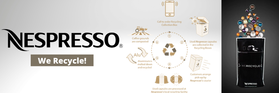 Nespresso vs Keurig - Nespresso We Recycle Image
