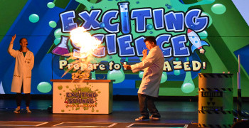 Exciting science at Potters Resort