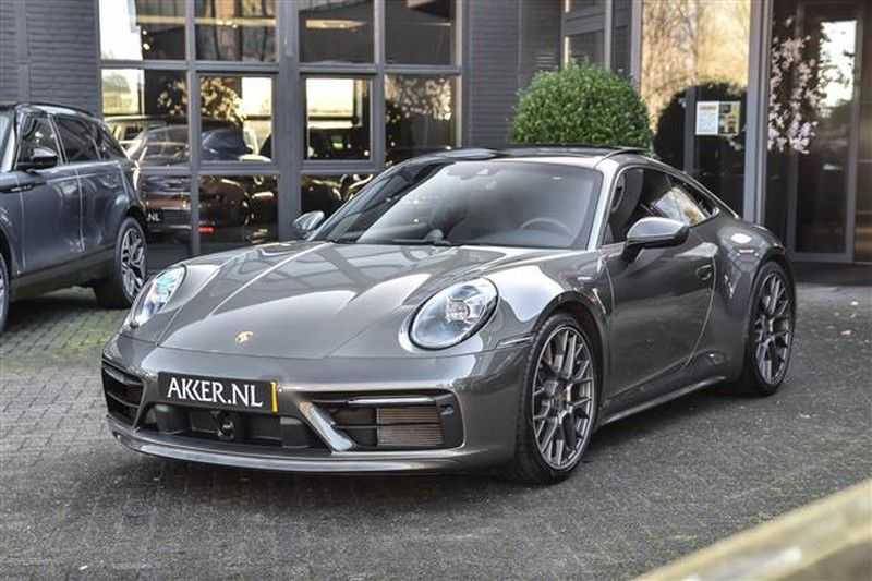 Porsche 911 4S SPORTDESIGN+LIFTSYST.+GLAS DAK+4WSTURING NP.219K afbeelding 16