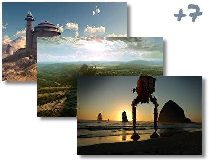 Star Wars Landscapes theme pack