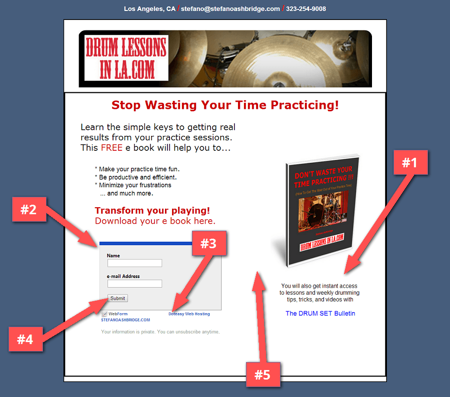 Drum_Lessons_In_LA_Landing_Page_Review