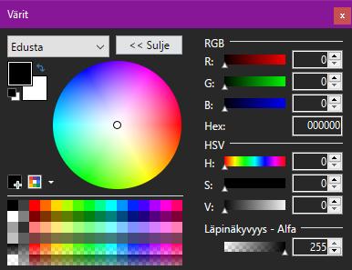 Värit-Lisää