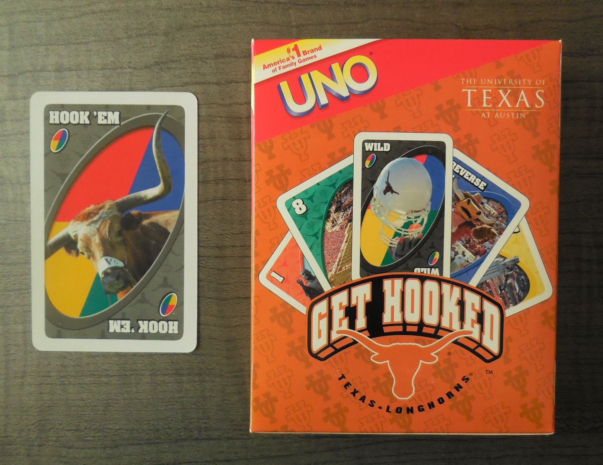 University of Texas Uno Card Game