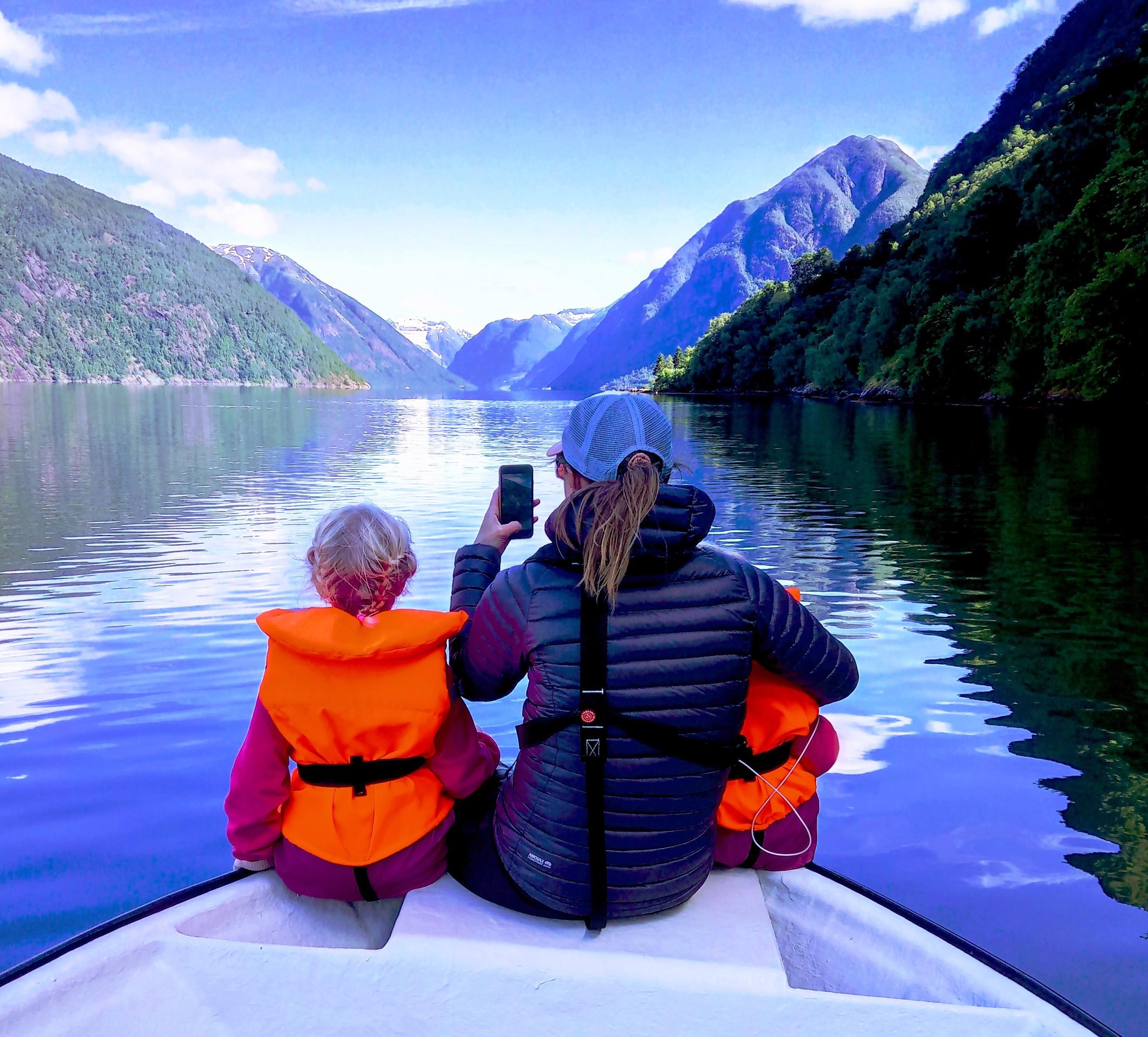 Balestrand Family & Fishing nets - The original fjord experience.