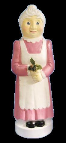 Victorian Mauve Mrs. Claus photo