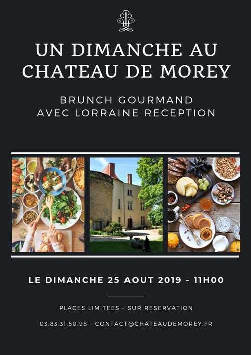 Brunch au Château de Morey