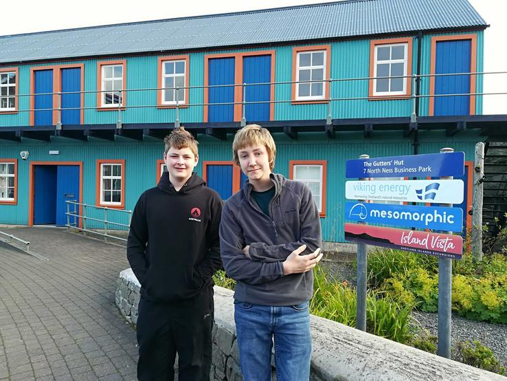 Lowrie and Stuart shares details about their work experience placement with Mesomorphic.