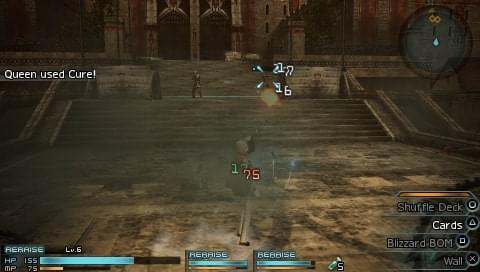 final fantasy type 0 psp action rpg