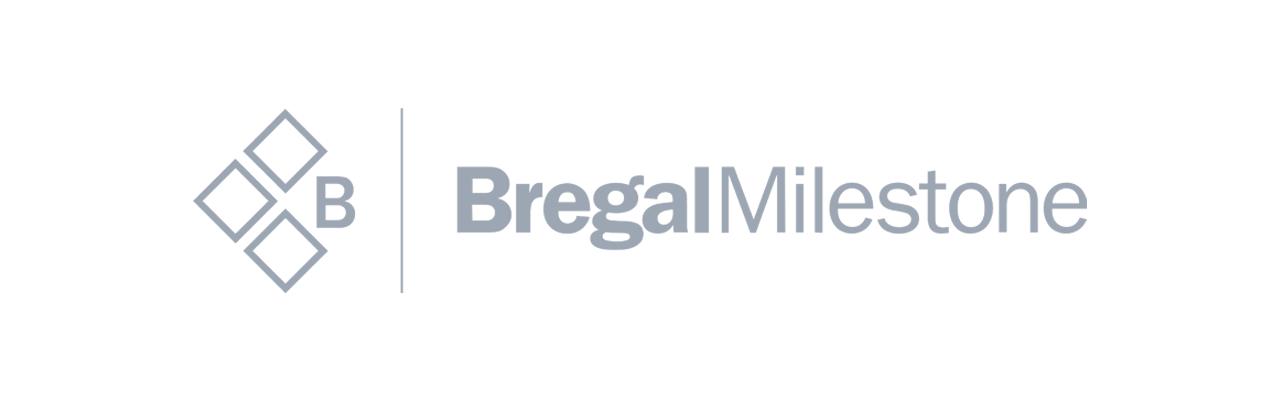 Technology & product due diligence | Code & Co. advises BREGAL MILESTONE (logo shown)