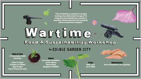 Wartime Food and Sustainability Workshop