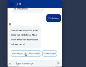 Culture Chatbot: a virtual museum tour guide