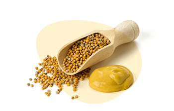 Mustard is one of the EU 14 Major Food Allergens, Erudus lets you easily see if a product contains this or any of the allergen ingredients