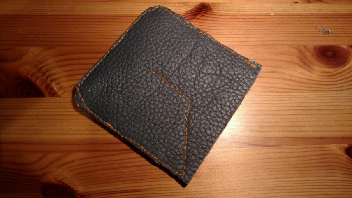 The finished coin wallet