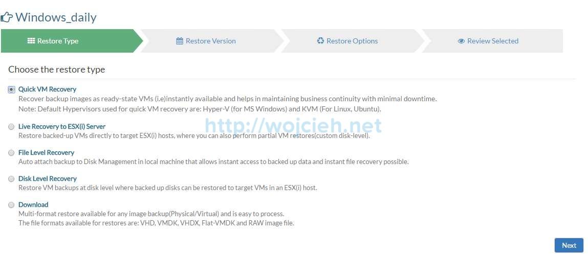 Vembu BDR Suite Review - 17