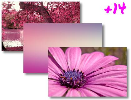 Pink theme pack