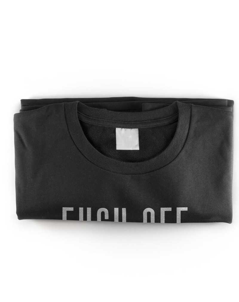Hidden Message Fuck Off T- Shirt