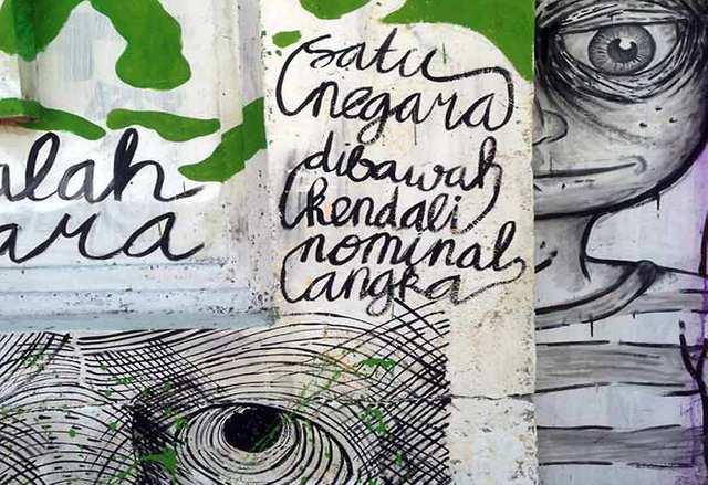 Fumes - Bali graffiti - photo by LUCI