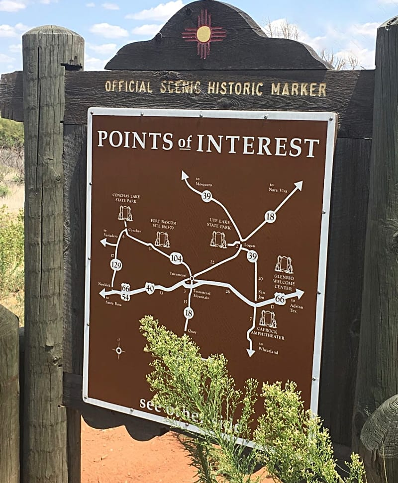 Tucumcari points of interest