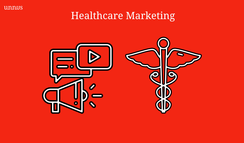 healthcare marketing illustration