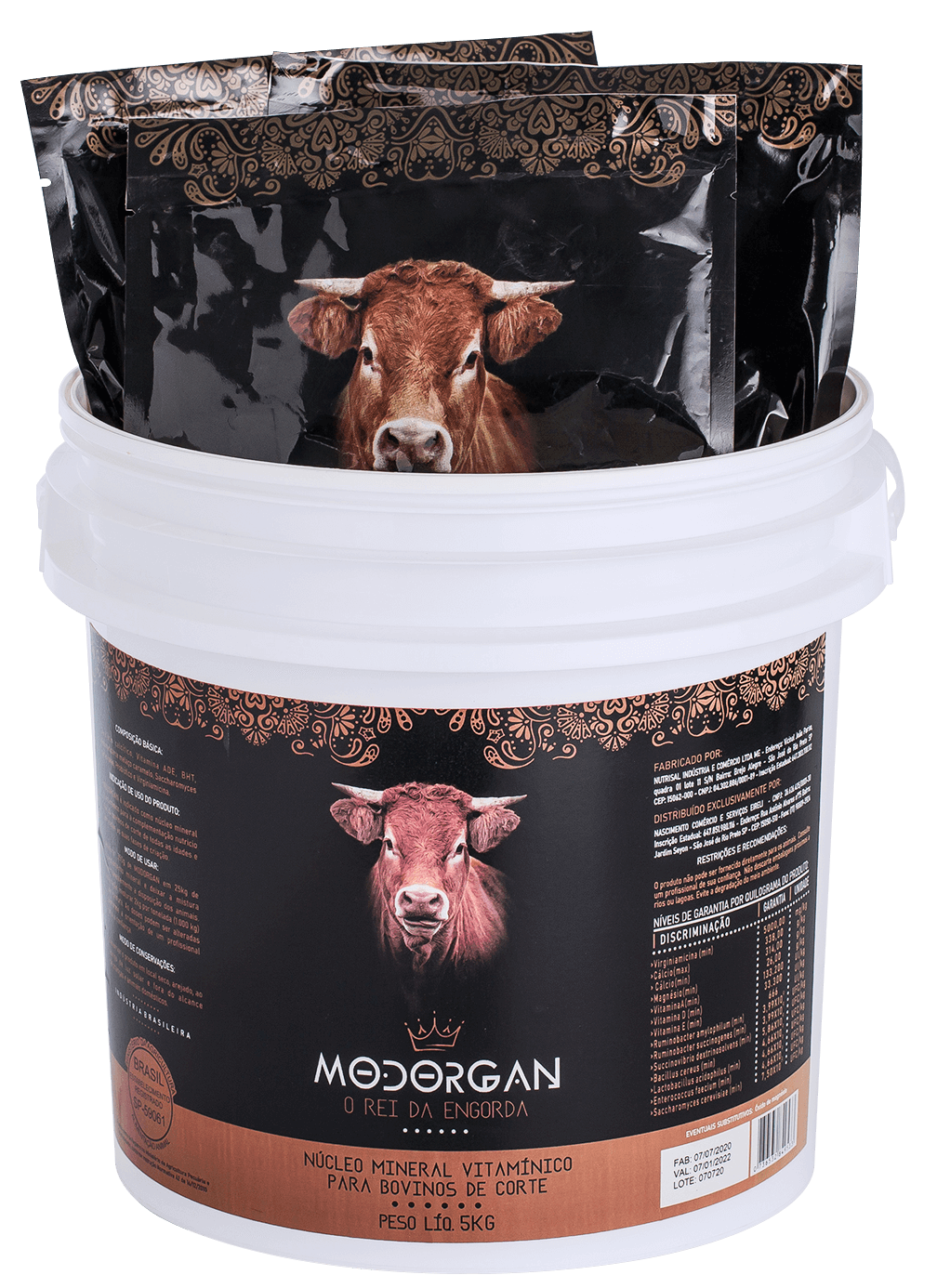 Produto Modorgan - O rei da engorda