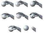 Virtual grasping feedback and virtual hand ownership