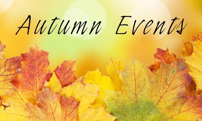 Osvěta, výstavy, konference a další podzimní akce