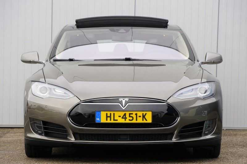"Tesla Model S 90D Base / 422 PK / Panoramadak / Luchtvering / NL-Auto / 132dkm NAP / 21"" LMV / Leder afbeelding 22"