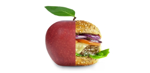apple burger health