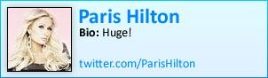 Paris Hilton on Twitter