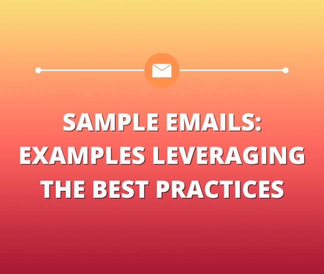 Sample emails grpahic