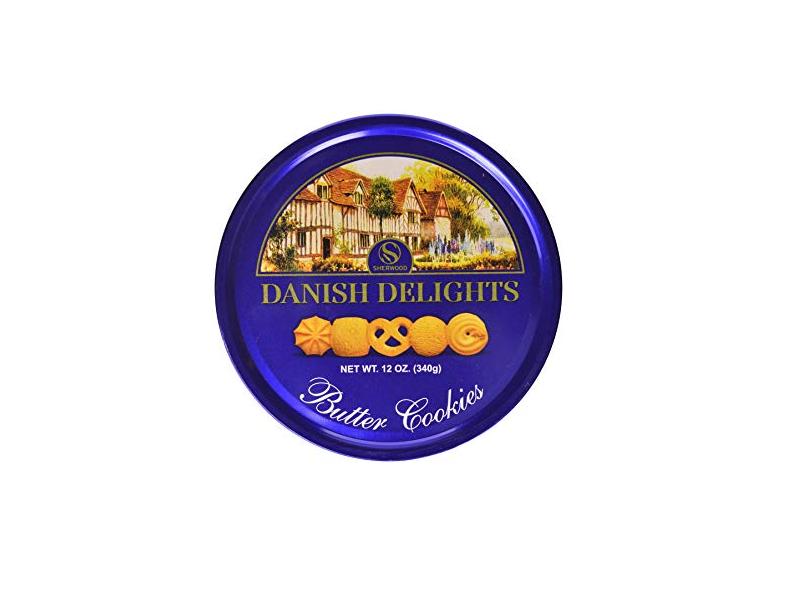 Sherwood Danish Delight Butter Shortbreads (340g)